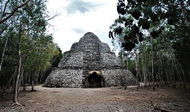 Cierre temporal de la Zona Arqueológica de Cobá, Quintana Roo