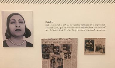 Últimas semanas de Archivo expuesto: Lupe Marín y María Izquierdo en el Museo Mural Diego Rivera