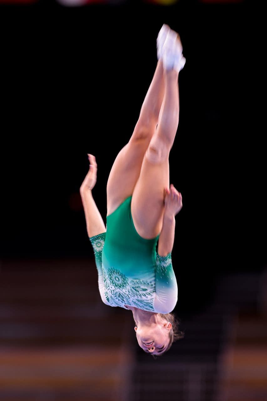 Gimnasta de trampolín Dafne Navarro, dentro de las ocho mejores en Tokio 2020