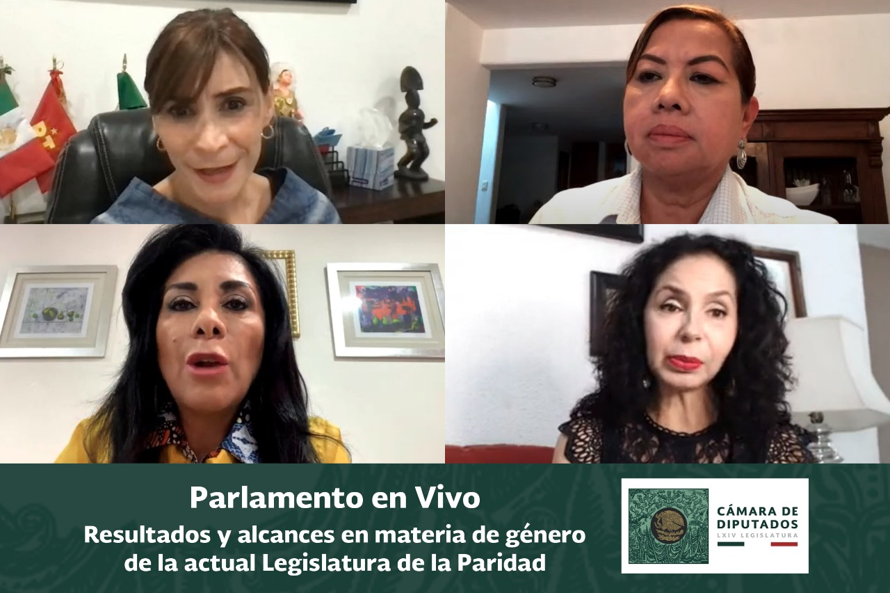 Diputadas del PRI, PT y PRD destacan avances en materia de paridad de género en la LXIV Legislatura