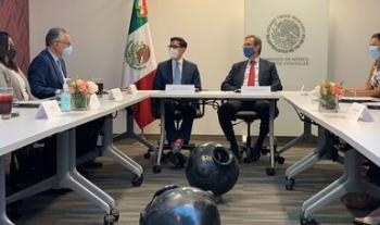 Concluye visita a Washington D.C. de funcionarios del Gobierno de México
