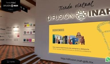 El INAH presenta su tienda virtual de publicaciones y reproducciones