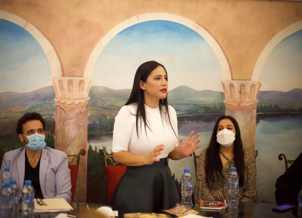 Sandra Cuevas impulsará la economía de empresarios del Centro histórico a partir de octubre para que tengan buenas ventas en diciembre