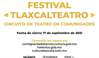 La iniciativa Tlaxcalteatro cumple tres años y los celebra creciendo su oferta en Tlaxcala