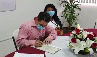 Autoriza INM matrimonio en estación migratoria de Veracruz