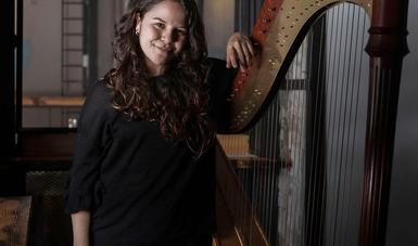 La arpista Amalinalli Pichardo evocará en un recital en línea el sonido de compositoras de los siglos XIX y XX