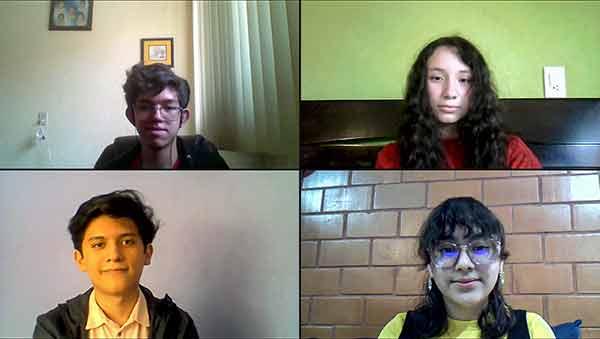 Cuatro estudiantes de excelencia están en el bachillerato de la UNAM