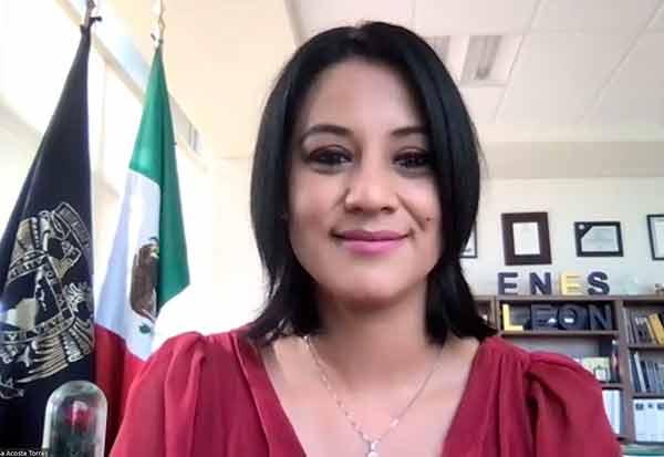 Ofrece Laura Susana Acosta Torres potenciar el desarrollo de la ENES León