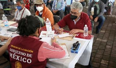 Inicia Bienestar en Ciudad de México registro de mayores de 65 años a pensión universal