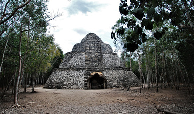 Cierre de la Zona Arqueológica de Cobá, en Quintana Roo