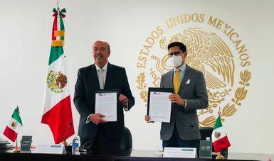 SRE firma convenio de colaboración con el Órgano Administrativo Desconcentrado de Prevención y Readaptación Social de la SSPC