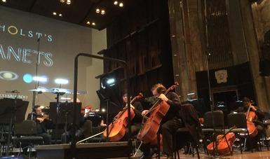 Los planetas, espectáculo audiovisual a cargo de la Orquesta Sinfónica Nacional, en línea