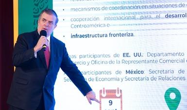México y Estados Unidos celebrarán Diálogo Económico de Alto Nivel en Washington