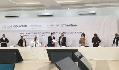 Se decreta Alerta de Violencia de Género contra las Mujeres en Tlaxcala