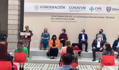 Conforman Conavim y CNB Coordinación Nacional Técnica del Protocolo Alba