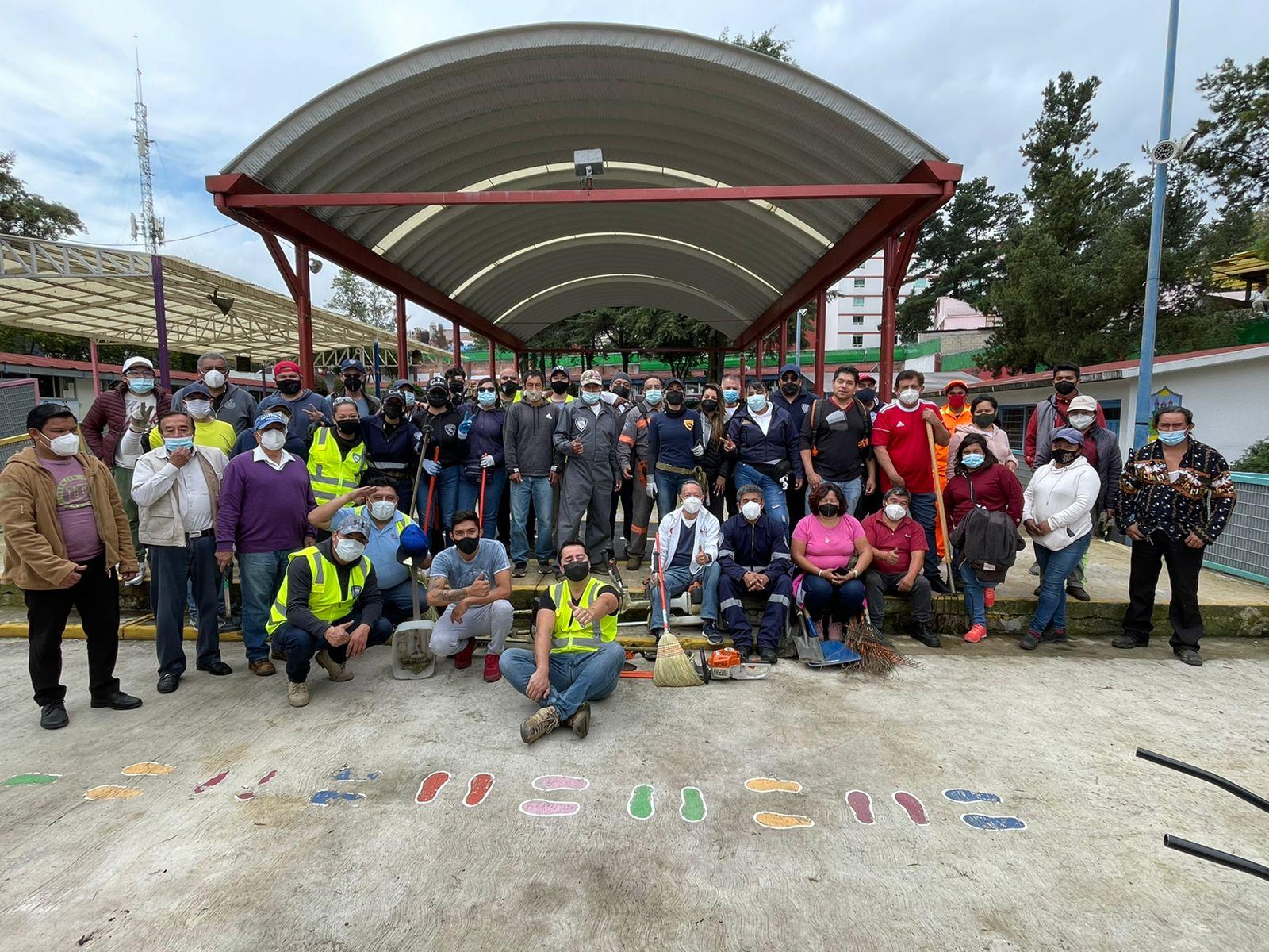 Cuajimalpa coadyuva con Gobierno Federal y Central, regreso voluntario y seguro a clases presenciales