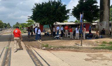 Grupo Beta del INM comparte experiencia de auxilio y rescate con Usfroh de Panamá