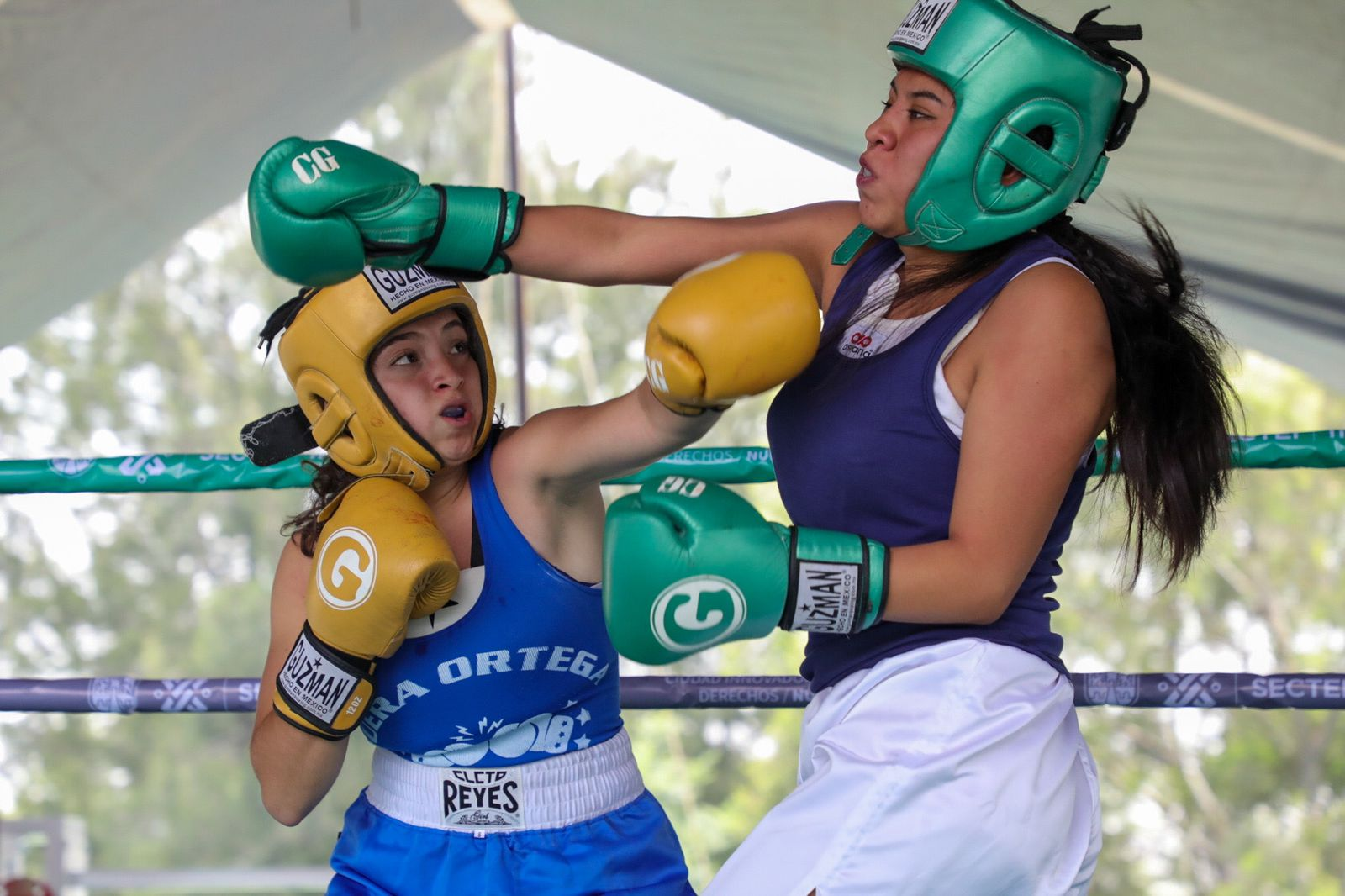 Jornada de entrenamiento-exhibición de boxeo del programa