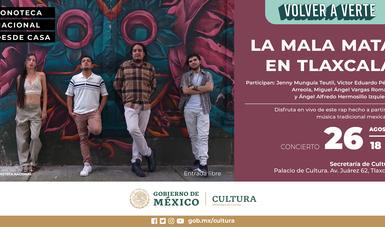 El grupo de rap La Mala Mata se presentará en la sede de la Secretaría de Cultura, en Tlaxcala