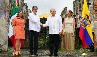 Declaración Conjunta de los presidentes de México y Ecuador