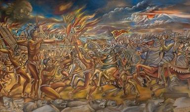 El Salón de la Plástica Mexicana reúne muestra colectiva virtual en el marco de los 500 años de Resistencia indígena
