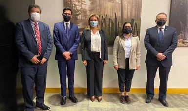 Se reúne equipo de la Secretaría de Relaciones Exteriores con la gobernadora electa de Chihuahua, Maru Campos
