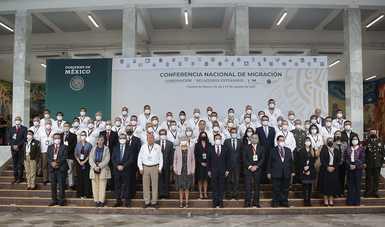 Mensaje de la secretaria de Gobernación, Olga Sánchez Cordero, en la inauguración de la Conferencia Nacional de Migración