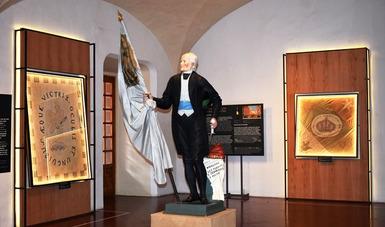 La muestra Pabellón Conmemorativo. Ruta Itinerante de Banderas Históricas arriba al Museo Regional de Querétaro