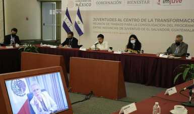 Mensaje de la secretaria de Gobernación, Olga Sánchez Cordero, en el evento 'Juventudes al Centro de la Transformación'