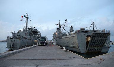 Gobierno de México envía ayuda humanitaria y apoyo médico a Haití en buques de la Semar