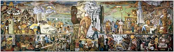 Superan universitarios barreras y caminos sinuosos para trasladar mural de Diego Rivera