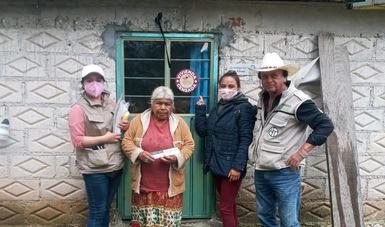 Suma Bienestar municipios de Puebla e Hidalgo a censo de daños por huracán Grace