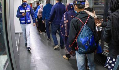 Tercer grupo de nacionales de Afganistán llega a México