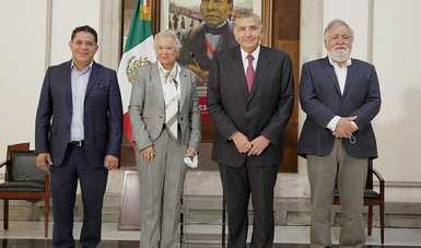 Total disposición para contribuir desde Gobernación a fortalecer la transformación que encabeza el presidente: Adán Augusto López Hernández