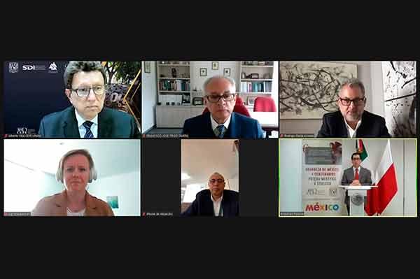 La UNAM y la Embajada de México en Polonia inician