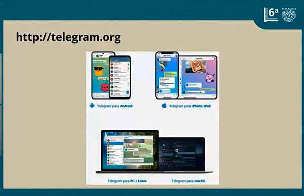Amplía sus servicios la Biblioteca Digital de la UNAM a través de la app Telegram