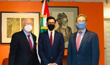 Funcionarios de la SRE alistan Diálogos Económico y de Seguridad de Alto Nivel en Washington, D.C.
