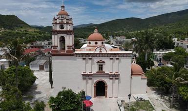 Región de La Montaña, en Guerrero, recupera su patrimonio religioso afectado por el sismo del 19-S