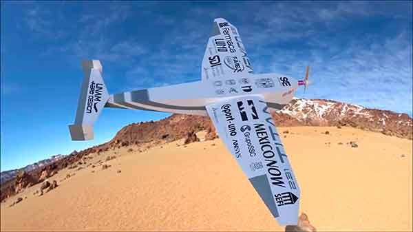 Construyen aeronave y triunfan en certamen internacional