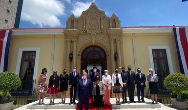 México y Costa Rica celebraron la III Reunión del Consejo de Asociación del Acuerdo de Asociación Estratégica