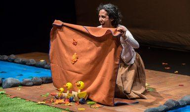 Con-templar, espectáculo lúdico para niñas y niños del Colectivo de Teatro en Espiral