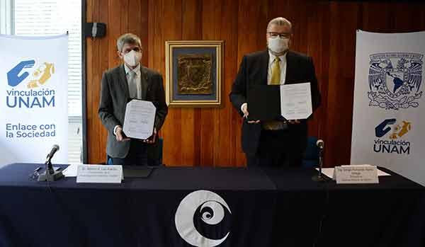 Firman convenio de colaboración la UNAM y la Cámara Minera de México