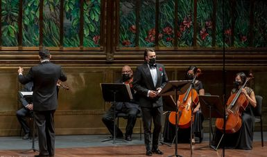Solistas Ensamble de Bellas Artes interpretarán El rey poeta, de Gustavo E. Campa en la reapertura de la Sala Manuel M. Ponce