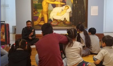 Un museo para ti, programa de educación y mediación entre museos y el público presencial y virtual
