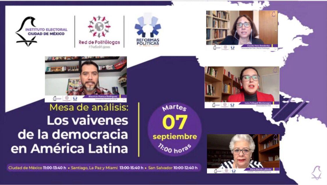Analizan especialistas internacionales situación democrática en América Latina