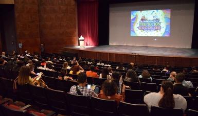 La presentación del Programa de Promoción Escolar del Cecut convocó al profesorado regional