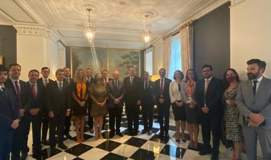 El canciller Ebrard promueve en Washington inversión y negocios para México