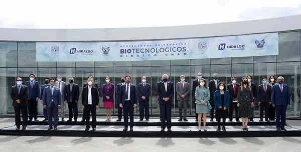 Instalan Junta Directiva de Aceleradora de Negocios Biotecnológicos UNAM-Hidalgo