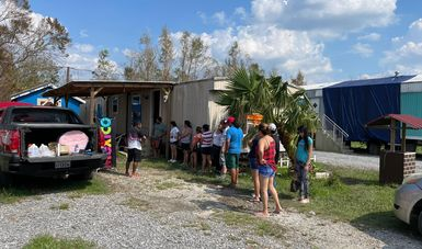 SRE implementa consulado móvil extraordinario en Luisiana, para connacionales afectados por huracán Ida