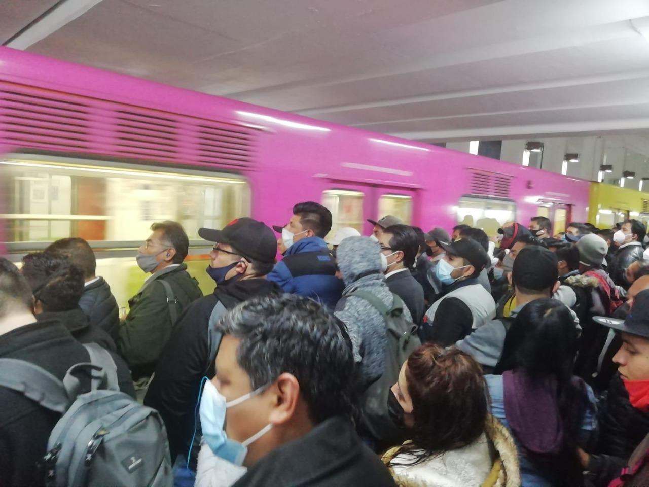 Historias en el metro - Claustrofobia